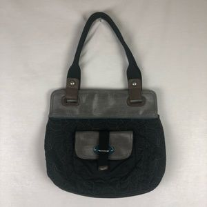 FOSSIL key-per style black and grey EUC
